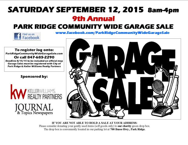 Garage Sale Flyer 2015