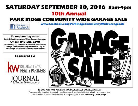 Garage Sale Flyer 2016