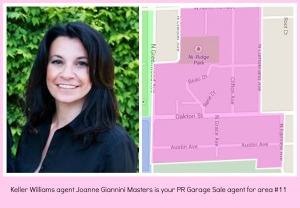 Joanne Giannini Masters rounds out her trifecta of PR Garage Sale areas with #11.