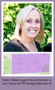 Park Ridge Community Wide Garage Sale area #7 is KW agent Donna Mundzic