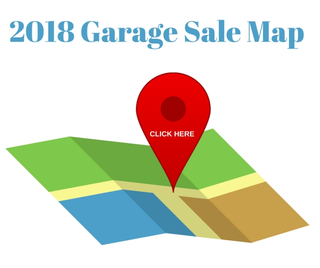 2018 Garage Sale Map Website Graphic